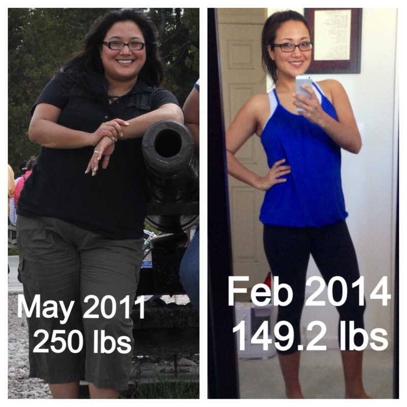 5 foot 6 Female 101 lbs Fat Loss Before and After 250 lbs to 149 lbs