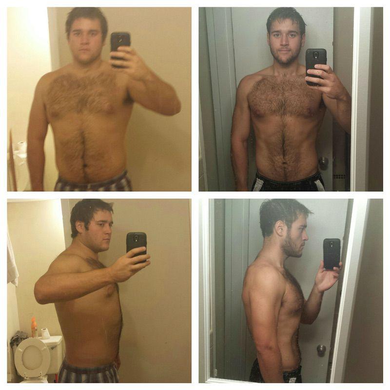 100 lbs Weight Loss 6'5 Male 320 lbs to 220 lbs