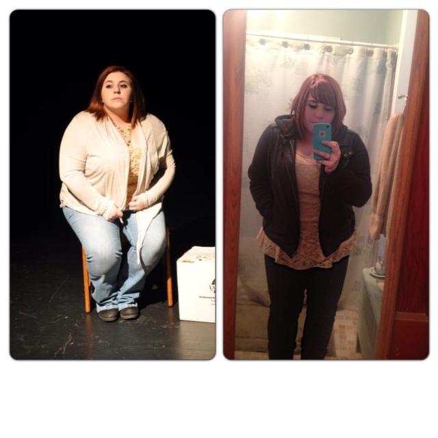 Progress Pics of 38 lbs Fat Loss 4 feet 10 Female 247 lbs to 209 lbs