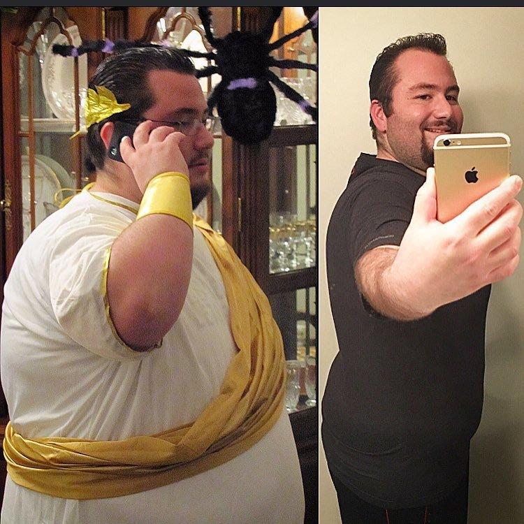 Progress Pics of 181 lbs Weight Loss 5'11 Male 472 lbs to 291 lbs