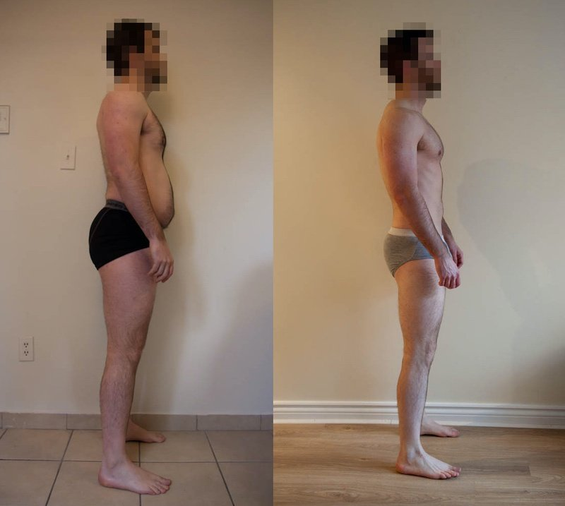 6 Photos of a 166 lbs 5 foot 10 Male Weight Snapshot