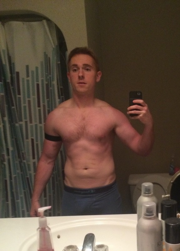 5 feet 10 Male 13 lbs Fat Loss Before and After 176 lbs to 163 lbs