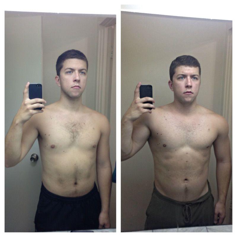 5'10 Male 30 lbs Muscle Gain 185 lbs to 215 lbs