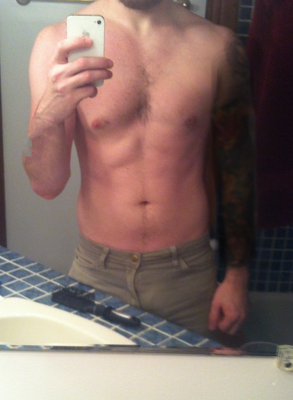 4 Pics of a 5'9 153 lbs Male Weight Snapshot
