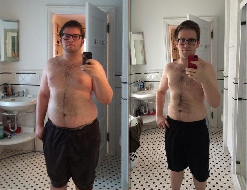 5'8 Male 70 lbs Weight Loss 240 lbs to 170 lbs