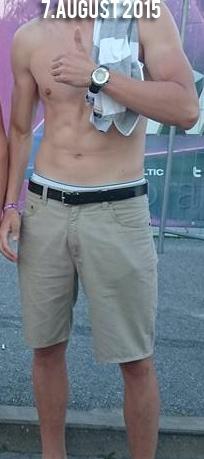 6 foot 5 Male Progress Pics of 14 lbs Muscle Gain 196 lbs to 210 lbs
