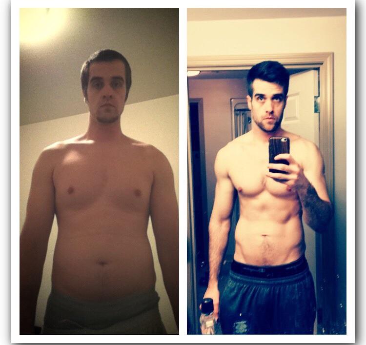 6 foot 3 Male Progress Pics of 20 lbs Weight Loss 215 lbs to 195 lbs