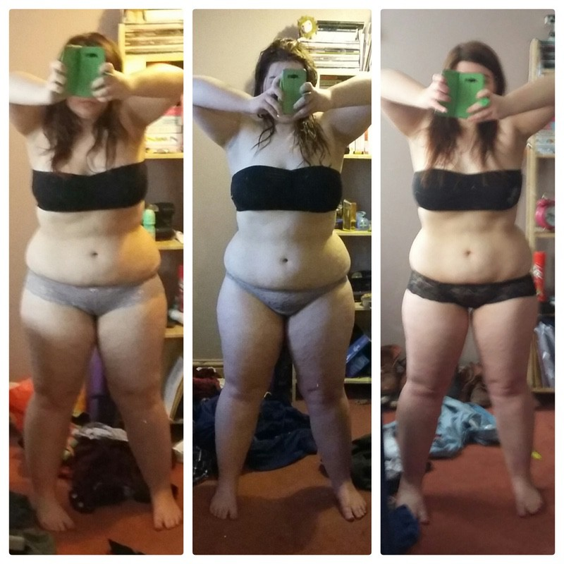 5 foot 3 Female Before and After 15 lbs Fat Loss 210 lbs to 195 lbs