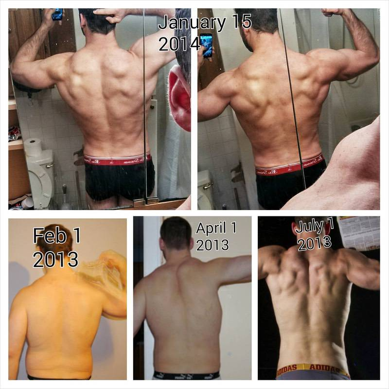 Before and After 90 lbs Weight Loss 6 foot 3 Male 315 lbs to 225 lbs