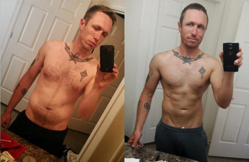 5'10 Male Progress Pics of 15 lbs Fat Loss 170 lbs to 155 lbs