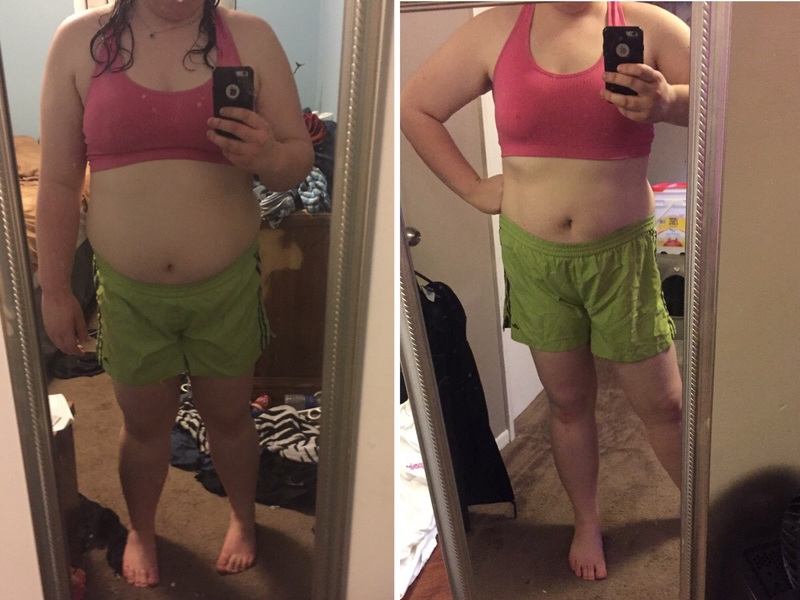47 lbs Weight Loss Before and After 5'7 Female 275 lbs to 228 lbs