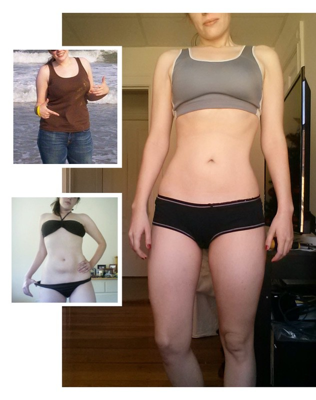 5 feet 4 Female 30 lbs Fat Loss Before and After 145 lbs to 115 lbs