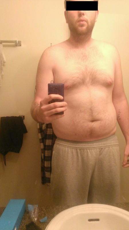 Progress Pics of 30 lbs Fat Loss 6'6 Male 268 lbs to 238 lbs