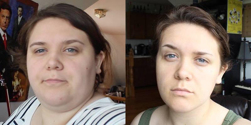 90 lbs Fat Loss 5 foot 9 Female 312 lbs to 222 lbs