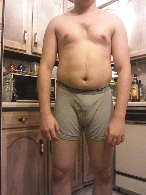 4 Photos of a 5'10 175 lbs Male Weight Snapshot