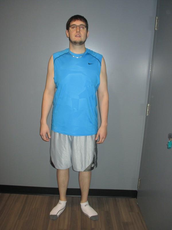 34 lbs Fat Loss 6 foot 3 Male 300 lbs to 266 lbs