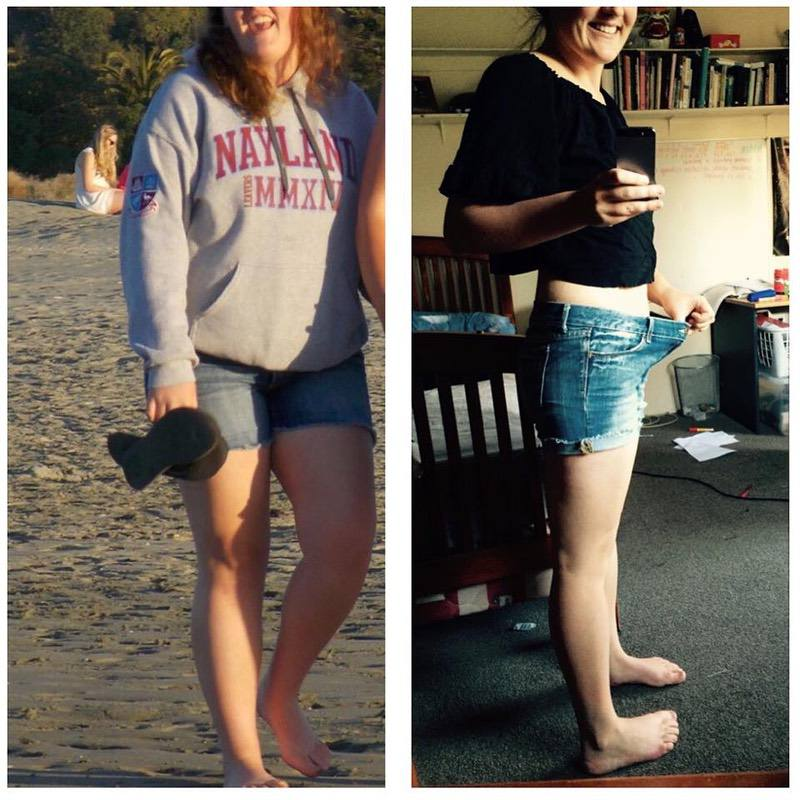 Progress Pics of 31 lbs Weight Loss 5'6 Female 190 lbs to 159 lbs