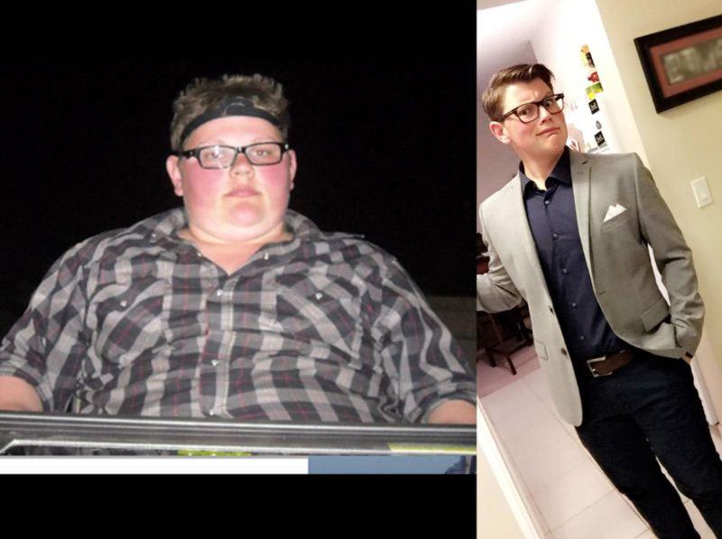 Progress Pics of 100 lbs Fat Loss 5'8 Male 300 lbs to 200 lbs