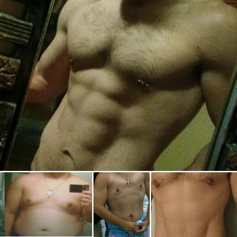 5 feet 7 Male 110 lbs Fat Loss Before and After 275 lbs to 165 lbs