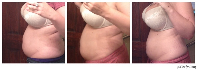 Before and After 30 lbs Fat Loss 6 foot Female 270 lbs to 240 lbs