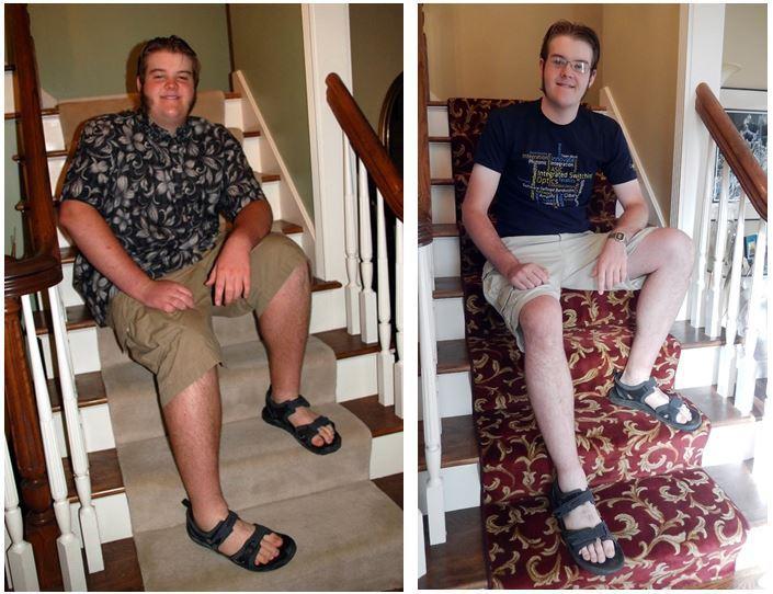 6 foot 5 Male 115 lbs Weight Loss 330 lbs to 215 lbs