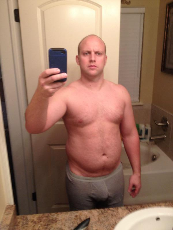5'6 Male 35 lbs Fat Loss Before and After 198 lbs to 163 lbs