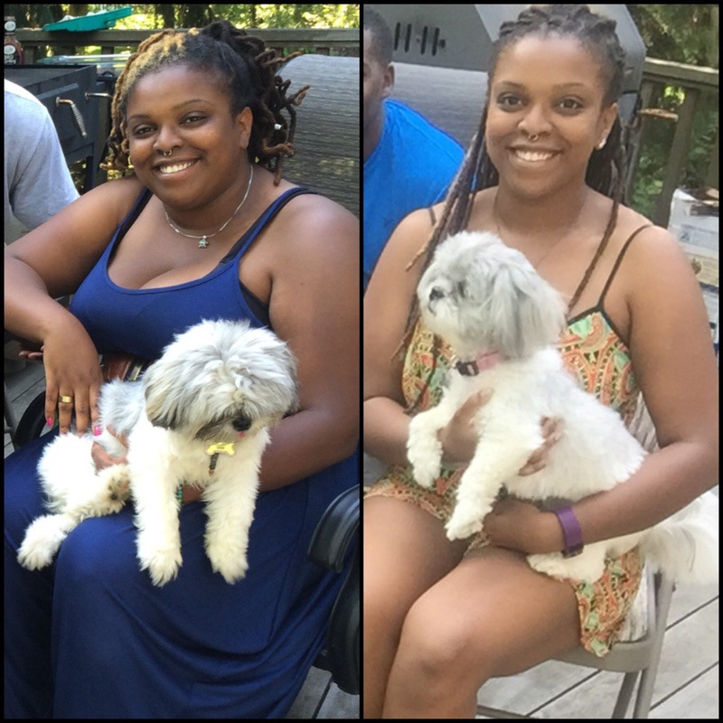 5 feet 2 Female 52 lbs Weight Loss Before and After 215 lbs to 163 lbs