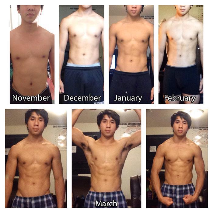 5 feet 5 Male Progress Pics of 13 lbs Weight Loss 138 lbs to 125 lbs