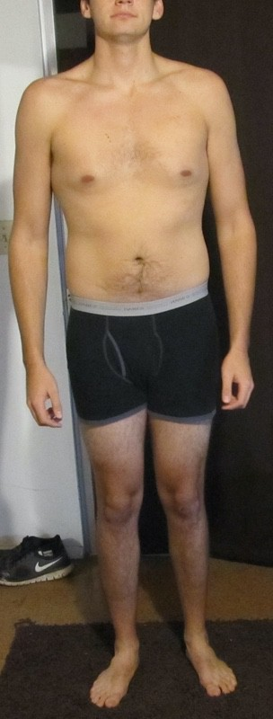 1 Pictures of a 6 feet 4 195 lbs Male Weight Snapshot
