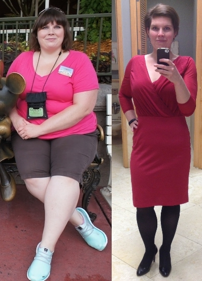 Before and After 130 lbs Weight Loss 5 feet 9 Female 317 lbs to 187 lbs