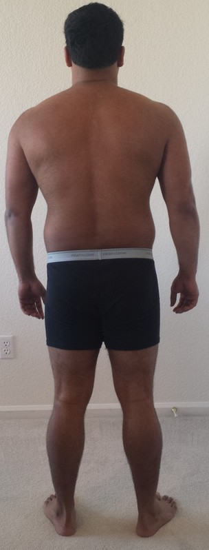 3 Pics of a 207 lbs 5'7 Male Fitness Inspo