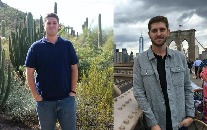 6 foot 4 Male Progress Pics of 90 lbs Weight Loss 270 lbs to 180 lbs