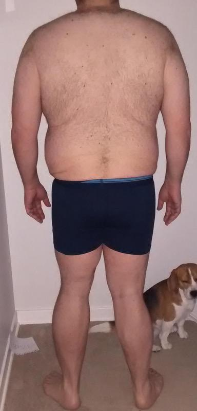 3 Photos of a 297 lbs 6'2 Male Weight Snapshot