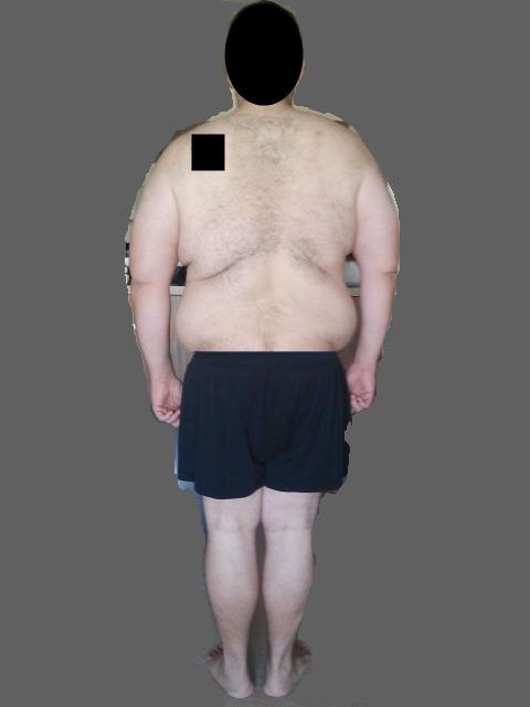 3 Pics of a 6 feet 3 330 lbs Male Fitness Inspo
