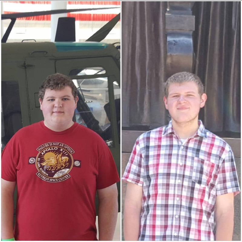 5 foot Male Progress Pics of 115 lbs Fat Loss 295 lbs to 180 lbs