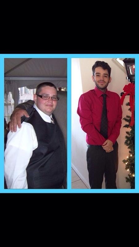 5 feet 6 Male 185 lbs Fat Loss 310 lbs to 125 lbs