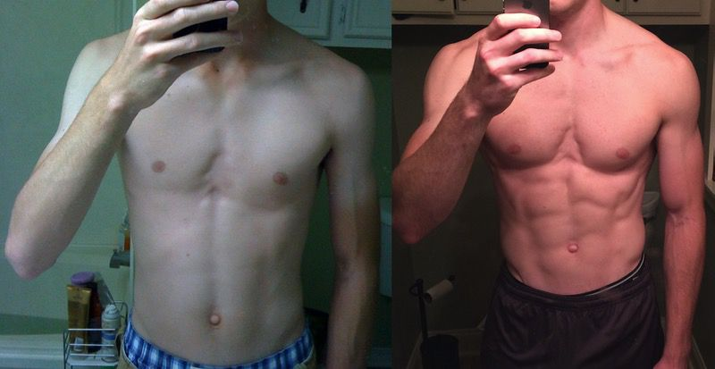 6 foot 3 Male 35 lbs Muscle Gain 155 lbs to 190 lbs