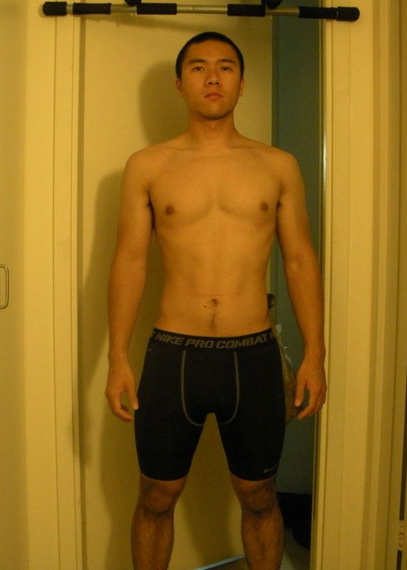 4 Photos of a 169 lbs 5 foot 8 Male Fitness Inspo