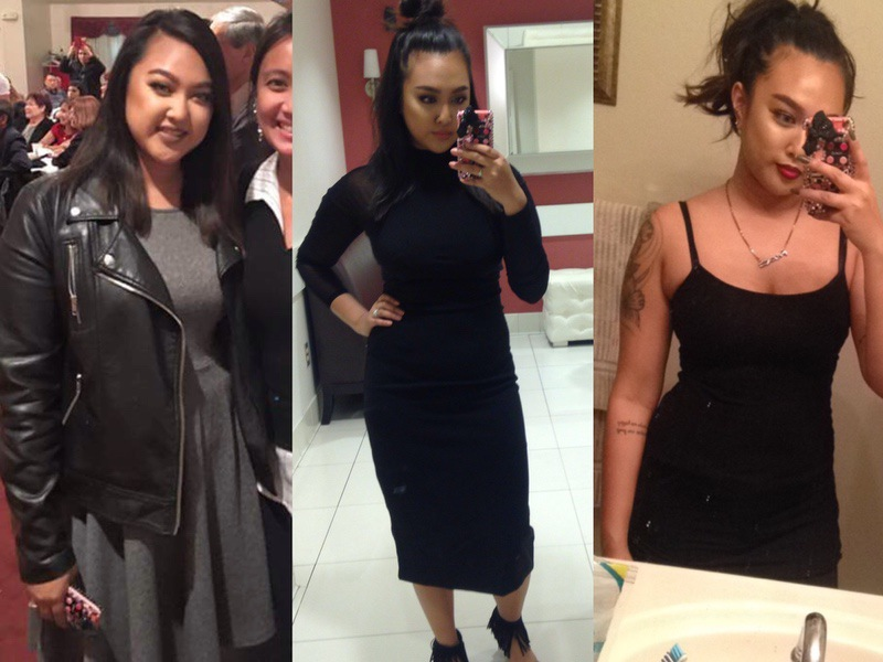 5 foot 1 Female 16 lbs Weight Loss Before and After 141 lbs to 125 lbs
