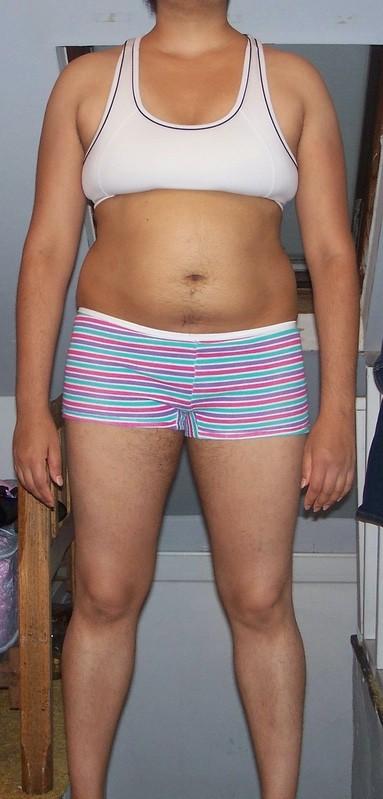 4 Photos of a 5 feet 7 175 lbs Female Weight Snapshot