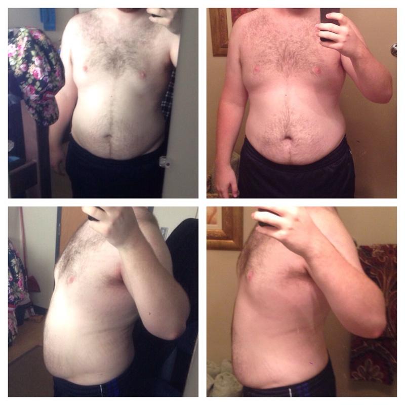 6'2 Male 30 lbs Fat Loss 280 lbs to 250 lbs