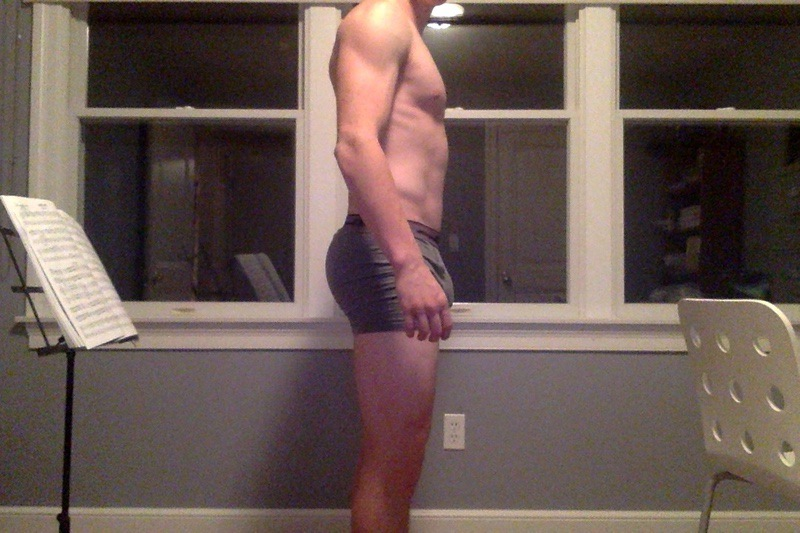 3 Pics of a 160 lbs 5 foot 9 Male Weight Snapshot