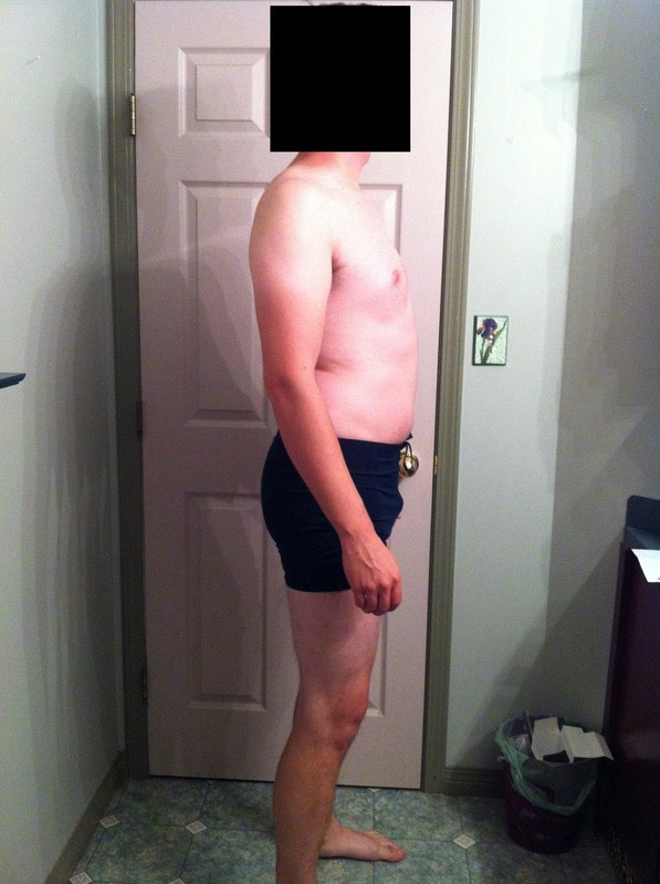 4 Pics of a 6 feet 2 200 lbs Male Weight Snapshot