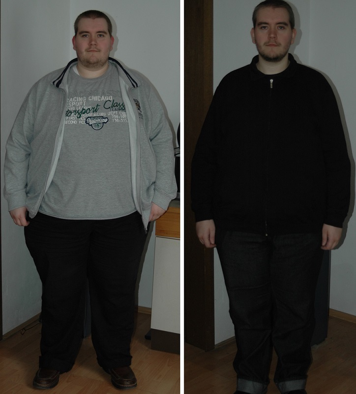 5 foot 11 Male Before and After 150 lbs Weight Loss 442 lbs to 292 lbs
