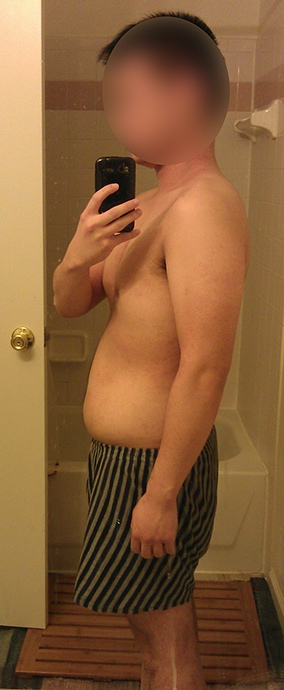 4 Pictures of a 5 feet 5 160 lbs Male Weight Snapshot