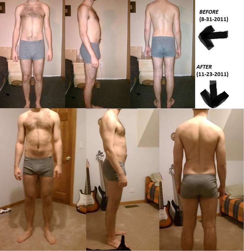 2 Photos of a 167 lbs 5 feet 11 Male Fitness Inspo