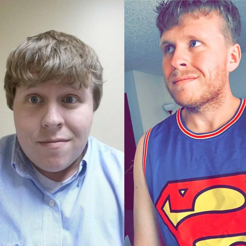 Progress Pics of 155 lbs Fat Loss 5 foot 10 Male 368 lbs to 213 lbs
