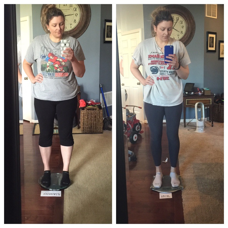 6 foot Female Before and After 36 lbs Fat Loss 231 lbs to 195 lbs