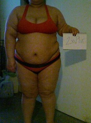 3 Photos of a 5 foot 2 276 lbs Female Fitness Inspo