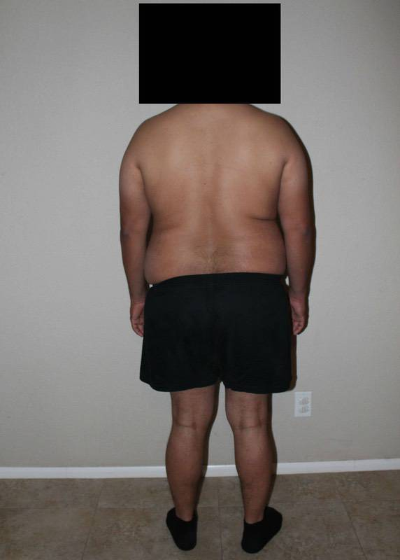 3 Pictures of a 5'11 260 lbs Male Fitness Inspo